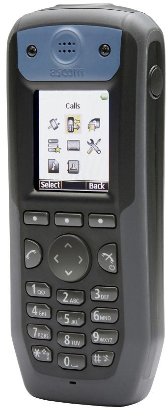 Clip ceinture pour mobile d81 ascom Messenger ou Protector pour appel malade ou infirmière.