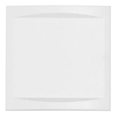 Plaque de propreté pleine CO99 RAL9016 (Pour 7264C, 72639A)