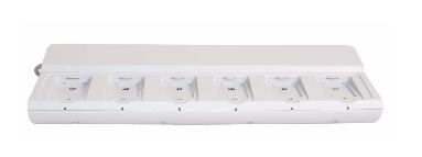 Chargeur collectif 6 positions ascom pour batteries d62 ascom & i62 pour appel malade ou infirmière.