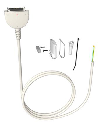 Câble de 2,5m interchangeable pour appel malade ou infirmière.