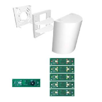 Hublot de signalisation à LEDS 3 sections. pour appel malade ou infirmière.