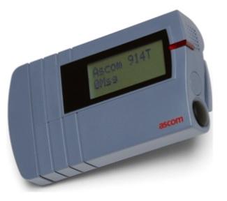 H914T ascom version Atex avec vibreur – Fréquence : 26,745Mhz