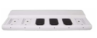 Chargeur collectif 6 positions ascom pour batteries de mobiles d81 ascom pour appel malade ou infirmière.
