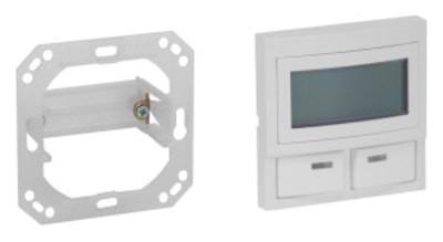 Module de sélection afficheur et 2 boutons blancs CO99V1, V2 Clino 99