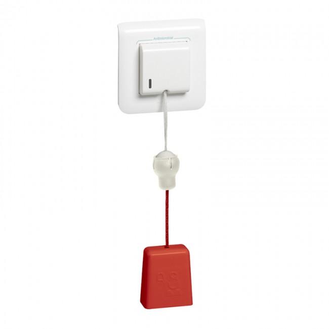 Dispositifs d'appel pour sanitaires – Tirette d'appel éjectable