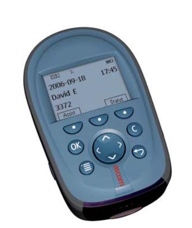 Emetteur / Récepteur a71 ascom gris foncé version Evoluée  pour appel malade ou infirmière.