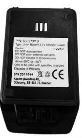 Batterie individuelle pour mobile d81 ascom pour appel malade ou infirmière.