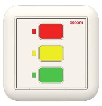 Unité bloc de porte personalisable  passives 3 boutons rétro-éclairés avec buzzer (65db à 2m).